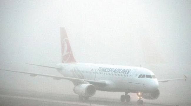 Iğdırda yoğun sis sebebiyle uçak seferleri iptal edildi