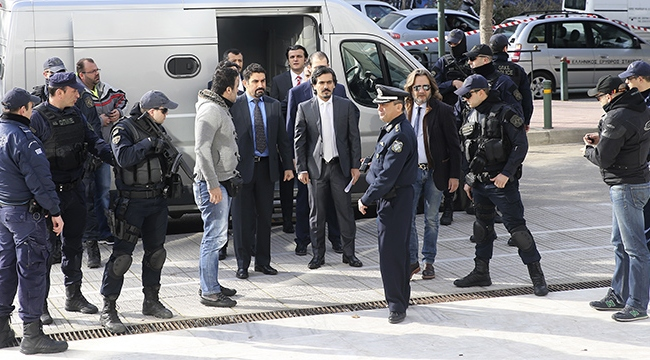 Yunanistandan kaçak darbecilerle ilgili karar