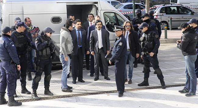 Yunanistana kaçan darbecilerin mahkeme tarihleri belli oldu
