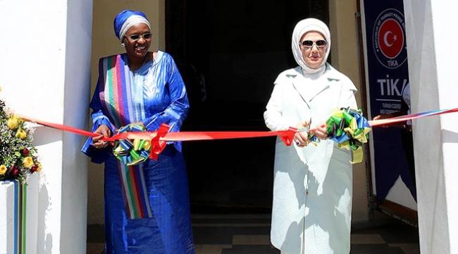 Emine Erdoğan Tanzanyada TİKA ofisinin açılışını yaptı