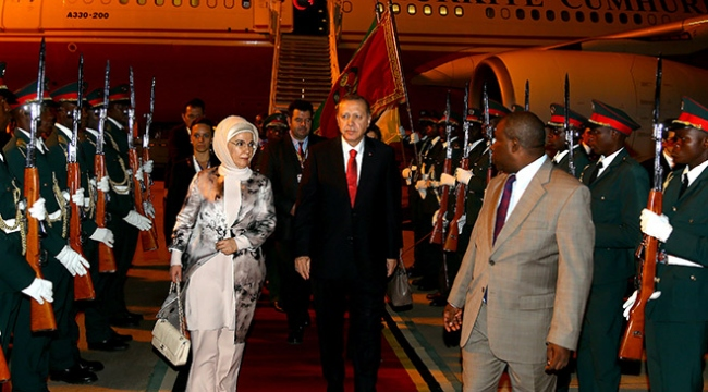 Cumhurbaşkanı Erdoğan Mozambikte