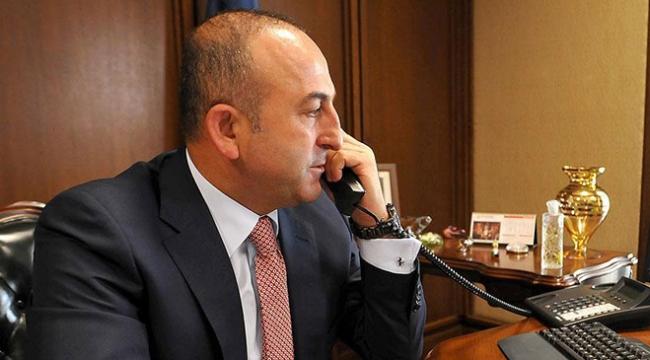 Çavuşoğlu ile Lavrov Suriyeyi görüştü