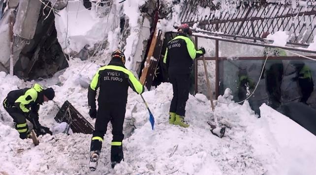 İtalyadaki çığ felaketinde 29 kişinin öldüğü kesinleşti