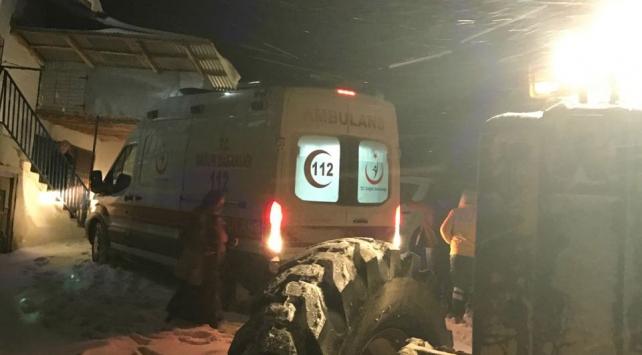 Kalp krizi geçiren kişiye belediye ekipleri ulaştı