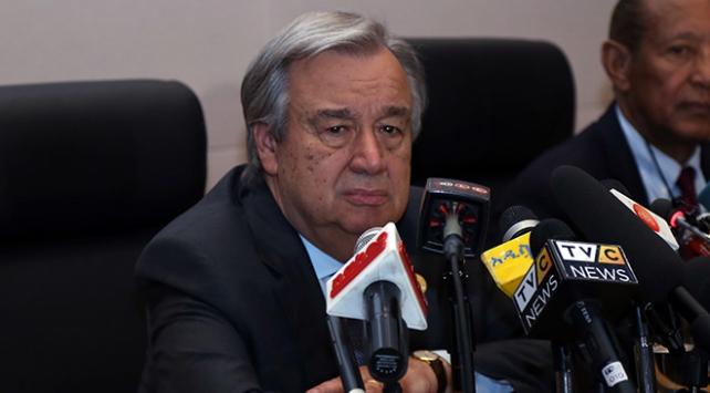 Guterres, Kıbrıs müzakerelerine katılacak