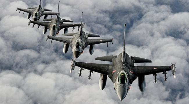 Irakın kuzeyinde saldırı hazırlığındaki teröristlere hava harekatı