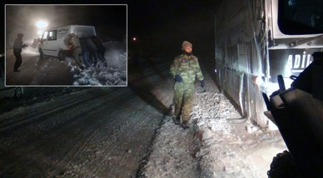 Tatvanda yüzlerce kişi donmaktan kurtarıldı