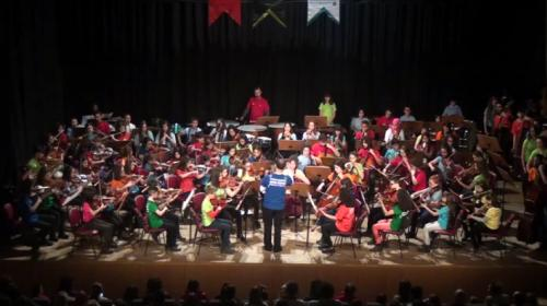 Çocuk Senfoni orkestrası