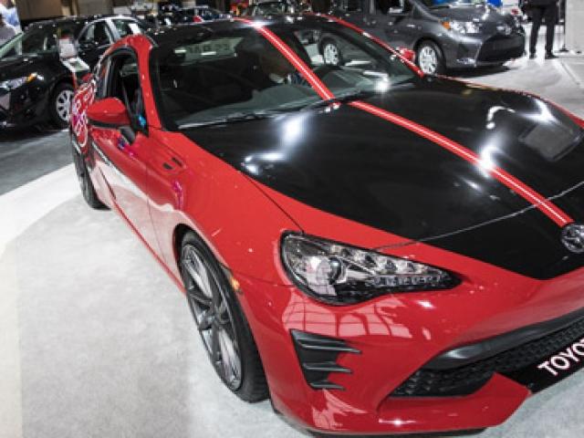Washington Auto Show rüzgarı