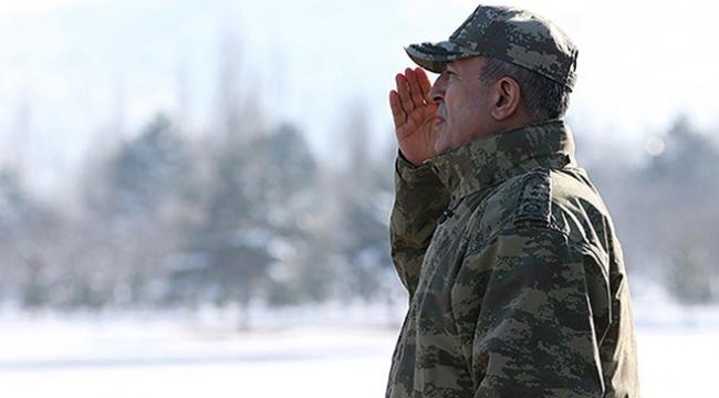 Genelkurmay Başkanı Akar: Tüm teröristler döktükleri kanın hesabını verecek