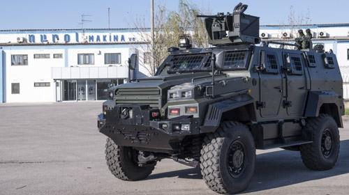 Ejder Yalçın 4X4 Zırhlı Muharebe Aracı
