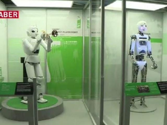 """""""Robotların Tarihi Sergisi"""""""