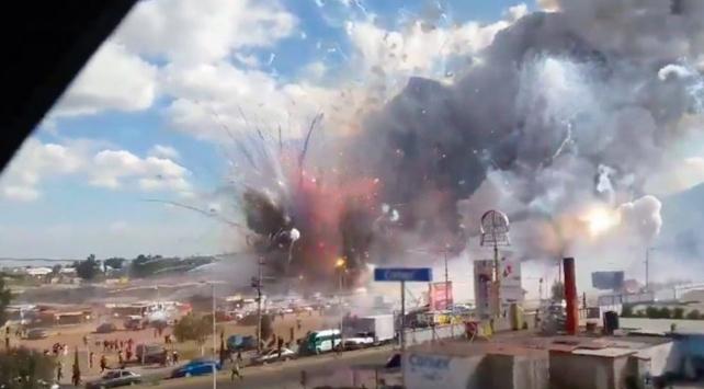 Havai fişek mağazasındaki patlamada 2 kişi öldü, çok sayıda yaralı var