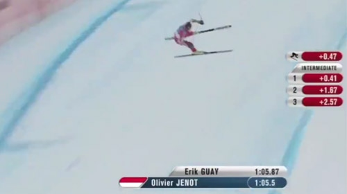 Dünya Kayak Şampiyonasında yürekler ağıza geldi