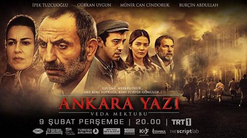 TRT Ev Sineması Kuşağı Ankara Yazı