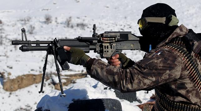 Teröristlerin inlerine girildi: El yapımı patlayıcı bulundu