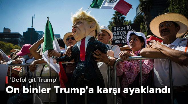 On binler Trumpa karşı ayaklandı