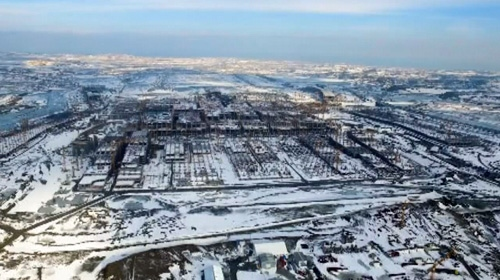 3. Havalimanı havadan böyle görüntülendi