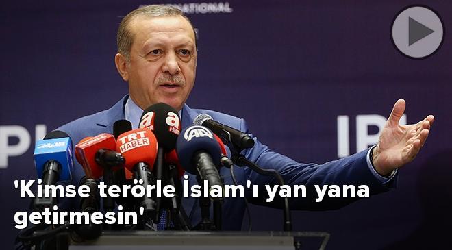 Kimse terörle İslamı yan yana getirmesin