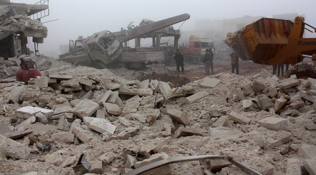 Suriye rejimi Halepte kimyasal silah kullandı