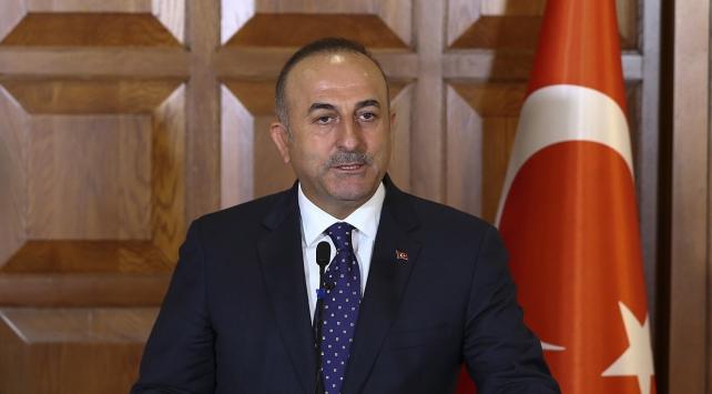 Bakan Çavuşoğlu, Suudi mevkidaşı ile bir araya geldi