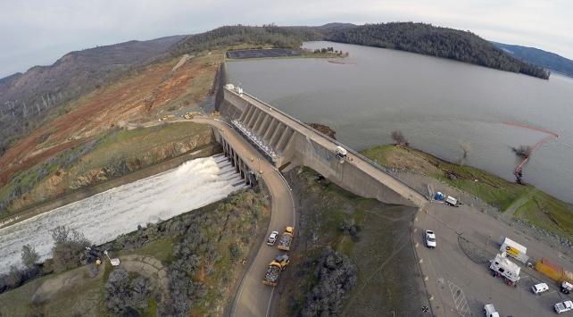 ABDde Oroville Barajındaki tahliye kararı kaldırıldı