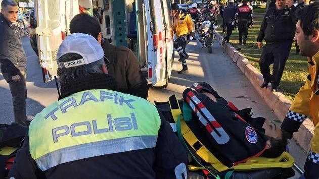 Adanada polis ekibi kaza yaptı: 1 şehit