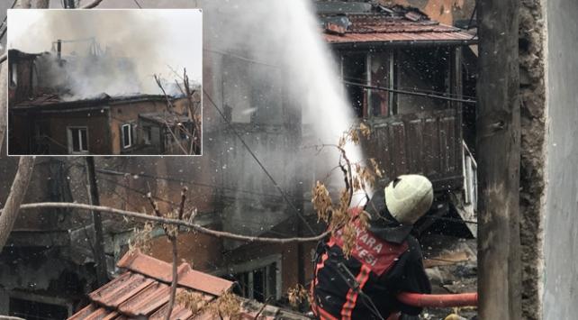 Ankara Sobacılar Çarşısında yangın