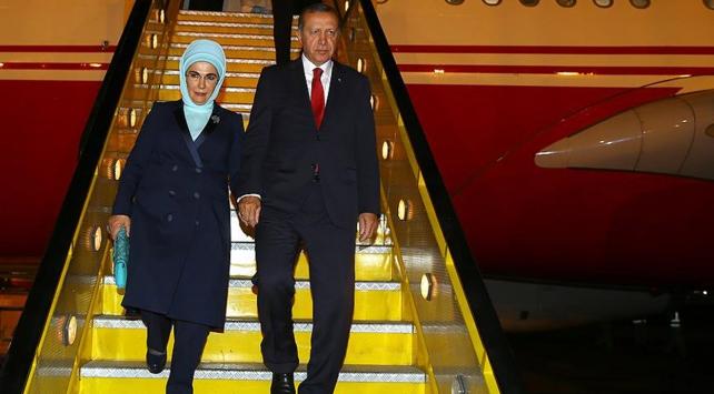 Cumhurbaşkanı Erdoğan Medinede
