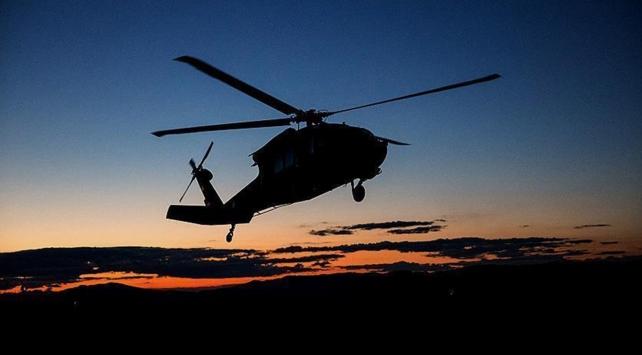 Pilot, helikopteri karaya indirdi; şoförlere adres sordu