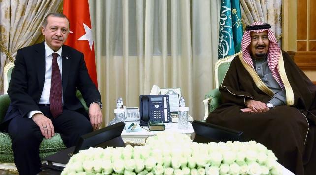 Cumhurbaşkanı Erdoğanın S. Arabistan ziyareti Körfez basınında