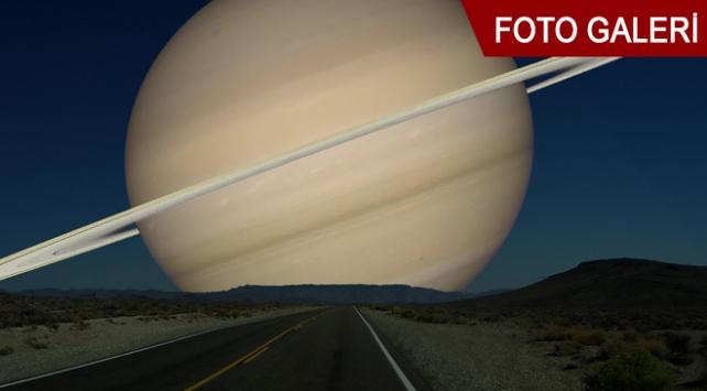 Ayın yerinde gezegenler olsaydı...