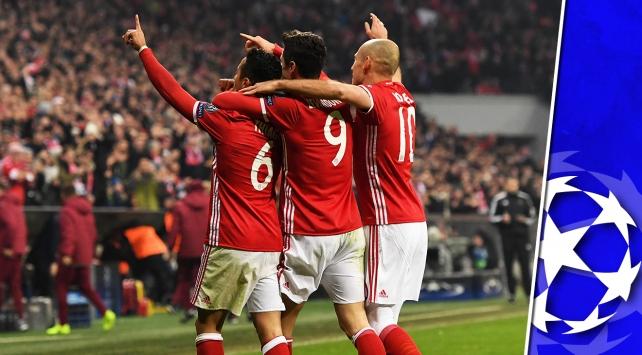 Son 16da avantaj Münih ve Madridin