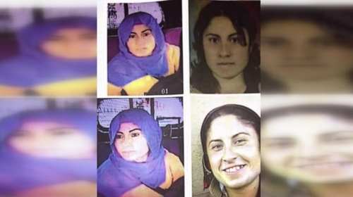 Bombalı aracı patlatan kadın teröristin görüntüleri