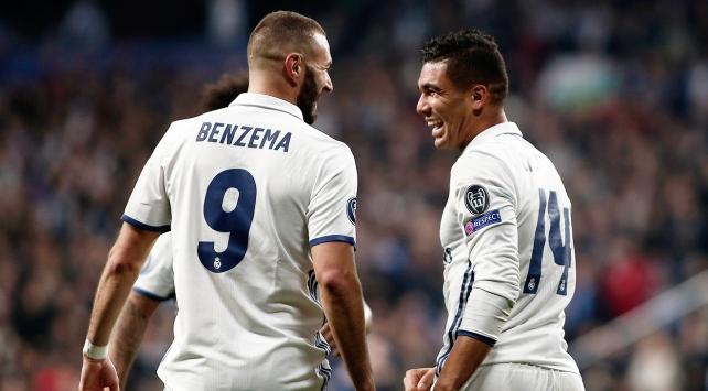 Real Madridin görünmez yıldızları Napoliyle parladı