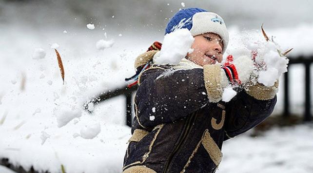 Trabzonda eğitime kar tatili