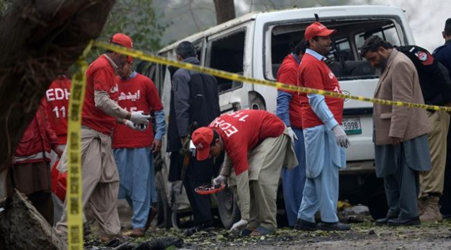 Pakistanda terör saldırısı: 8 ölü, 21 yaralı