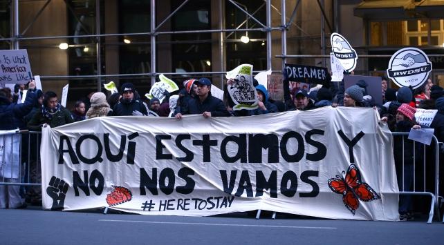 Amerikada Göçmensiz 1 Gün boykotu