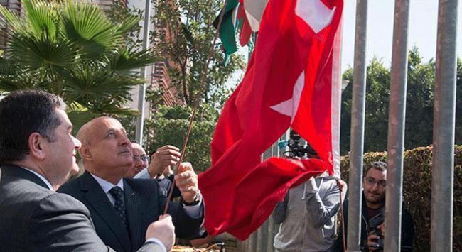 ISESCOda Türk bayrağı göndere çekildi