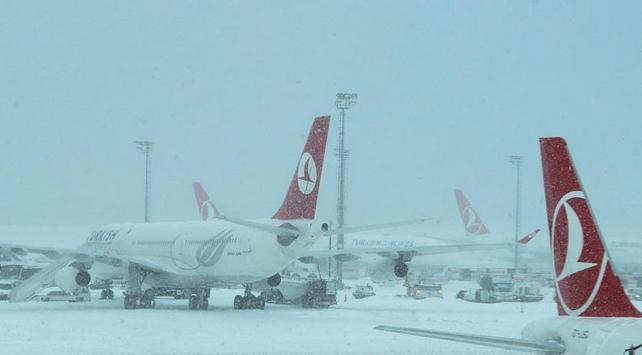 Trabzonda hava yolu ulaşımı yeniden başladı