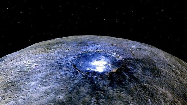 Cüce gezegen Cereste organik bileşkeler bulundu