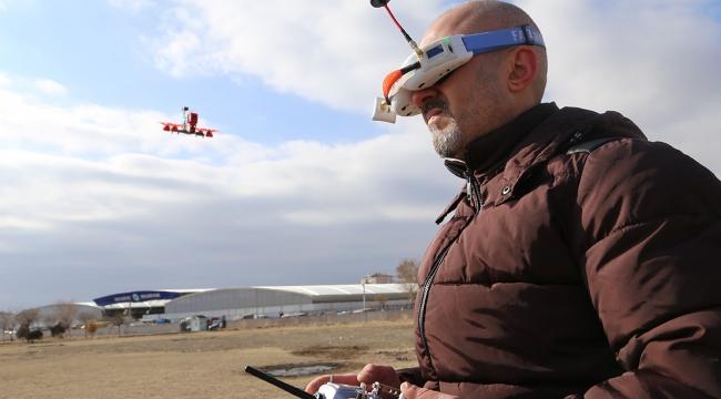 Yerli drone tek uçuşla 50 hektarlık alanı ölçüyor