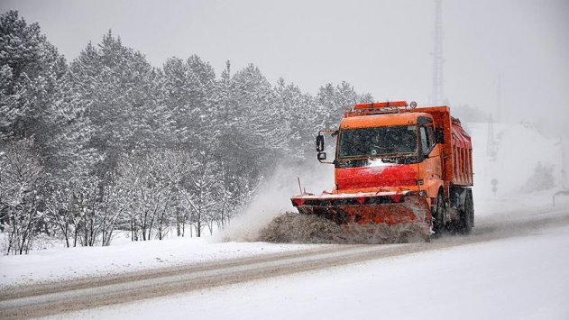 Kastamonuda 338 köy yolu ulaşıma kapandı