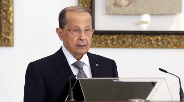 Lübnan Cumhurbaşkanı Avndan İsraile uyarı