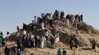 Uhud Dağı ve Mescid-i Kıbleteyn dolup taşıyor