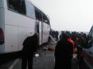 Iğdır'da yolcu otobüsleri kafa kafaya çarpıştı