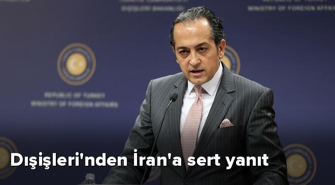 İranın ithamlarını kabul etmek mümkün değil