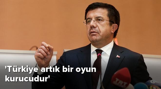 Türkiye artık bir oyun kurucudur