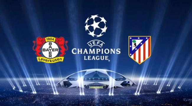 Bayer Leverkusen - Atletico Madrid maçı TRTde izlenecek