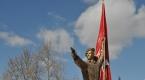 Şehit Halisdemirin heykeli dikildi